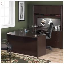 Front Office Designs Unique Bush Business Series C 48Piece UShape Right BowFront Desk BSC48