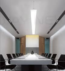 office pendant lighting. suspended 1m 54w linear panel led pendant light office hanging chandelier effect photos lighting