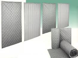 Quilted Fiberglass Sound Absorbers & Contact us to discuss your acoustic insulation problems! Adamdwight.com