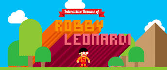 Robby Leonardi: Interactive Rsum. Work / Animation