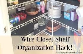 Wire Closet Organization Hack