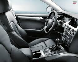black audi a4 interior. source audi a4 2008 white interior black