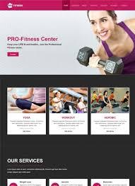 Best Sports Fitness Website Templates Free Download Webthemez