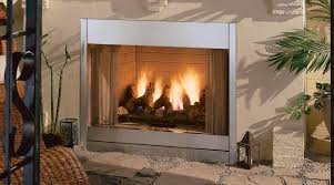 vent free gas fireplace and mantel