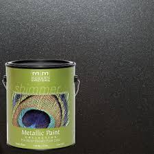 metallic paint home depot. black pearl metallic interior/exterior paint home depot