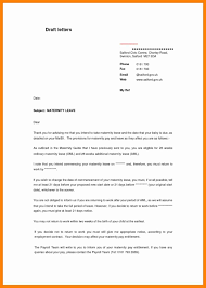 Resignation Letter After Maternity Leave Complete Vision Format