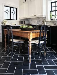 black and white floor tile kitchen. creamy white black and floor tile kitchen e