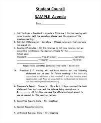 Examples Of Agenda Template – Custosathletics.co