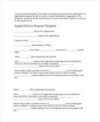 40 Business Proposal Examples Samples PDF DOC Impressive Business Proposal Sample Format