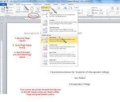 Microsoft Word Apa Format Dawaydabrowaco