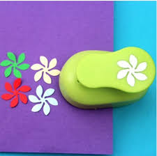 Paper Punches Flower 2 2 5cm Wave Flower Shape Eva Foam Punch Paper Punches For