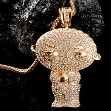 custom diamond chains nice mr chris da jeweler custom lab diamond big head stewie pendant