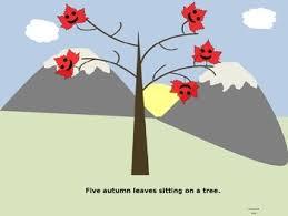 Five Little Autumn Leaves Powerpoint By Read2teach Tpt