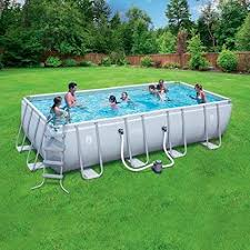 above ground rectangular swimming pools. Wonderful Pools Coleman 18u0027 X 9u0027 48u0026quot Power Steel Rectangular Frame AboveGround  Swimming Pool Intended Above Ground Pools U
