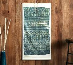 distressed wood wall art textile canvas wall art indigo distressed white wood wall art