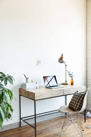 wooden office desk simple. Jessica Comingore Studio | Desk Space, Featuring West Elm Industrial Storage And Task Wooden Office Simple