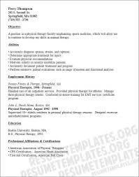 Physical Therapy Resume Beauteous Physical Therapy Resume Sample New Physical Therapy Resume Sample