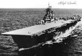 USS Bunker Hill (CV-17) in World War II