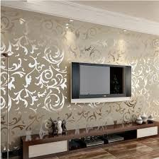 best wallpaper designs for living room. luxury embossed patten/textured wallpaper high end 10m gold/silver/cream quality best designs for living room f