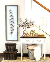 round entryway table decor small outstanding throughout prepare 4