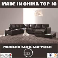 china contemporary high quality leather sofa lz112 china leather sofa living room sofa