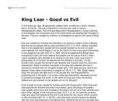 good vs evil essay thesis  good vs evil essay thesis