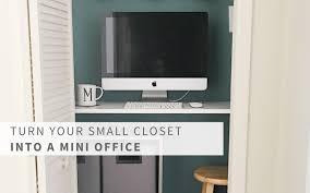 turn closet into office. Turn Closet Into Office