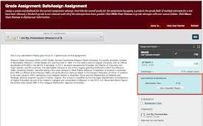 how to manage and grade safeassign assignments experts knowledge click the view originality report button the report will open in a new window tab