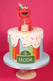 Elmo Cake Cakey Goodness
