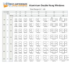 Standard Single Hung Window Size Chart Download Standard Double Window Size Fresh Furniture