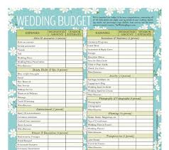 free wedding budget worksheet wedding budget templates 22 free templates official tips
