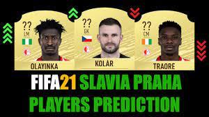 FIFA 21 | SLAVIA PRAHA PLAYERS RATING PREDICTION | W/KOLAR, OLAYINKA,  TRAORÉ, COUFAL, MASOPUST... - YouTube