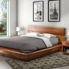bed frame bedroom rustic furniture suites delaware solid wood platform bed frame pc suite