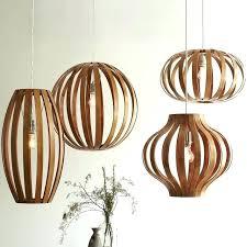 wood pendant light fixtures fixture bentwood oblong west elm wooden r7