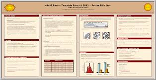 Scientific Research Poster Template Posters4research Free Powerpoint Scientific Poster Templates