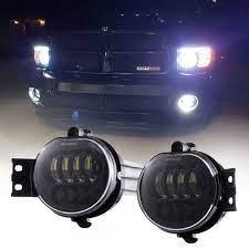 Z Offroad 2pcs 63w Led Fog Lights Lamps Replacement For 2002 2008 Dodge Ram 1500 2003 2009 Ram 2500 3500 2004 2006 Dura Dodge Ram Led Fog Lights Dodge Ram 1500