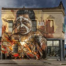 >street art utopia we declare the world as our canvas by awol  by awol crew in fitzroy melbourne australia