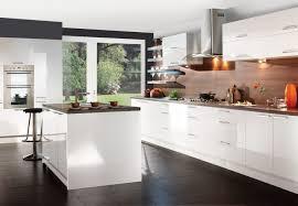Modern White Gloss Kitchen Cabinets MPTstudio Decoration - White contemporary kitchen