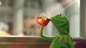kermit meme none of my business blank. Noneofmybusinesskermitmemeblank On Kermit Meme None Of My Business Blank
