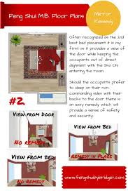 Mirror Facing Bedroom Door Feng Shui Less Than Excellent Feng Shui Placing The Head Of The Bed In