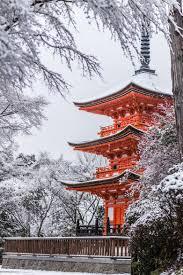 Japan Winter Phone Wallpaper