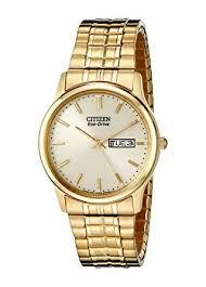 amazon com citizen men s bm8452 99p eco drive flexible band gold citizen men s bm8452 99p eco drive flexible band gold tone watch