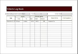 Vehicle Log Spreadsheet Mileage Record Book Fuel Log Vehicle Madebyforay Co
