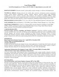 Network Engineer Resume New 2017 Format And Cv Samples Senior S Sevte