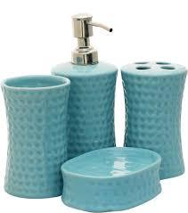 Decorative Bathroom Accessories Sets Bulk Wholesale Handmade Ceramic Bath Accessories Set 100 Items 71