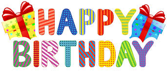 Happy Birthday Transparent PNG Clip Art | Gallery Yopriceville -  High-Quality Images and Transparent PNG Free Clipart