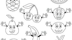 Fruits Colouring Pages Pdf Raovat24hinfo