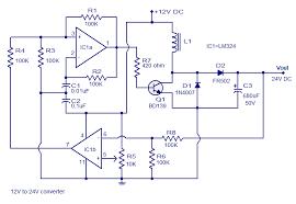12v to 24v dc converter circuit diagram wiring diagram user 12v to 24v dc converter boost converter circuit design using lm324 12 to 24vdc converter circuit diagram 12v to 24v dc converter circuit diagram