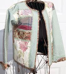 96 best Patchwork jacket images on Pinterest | Button, Cardigan ... & Women's size large quilted sweatshirt jacket by lavendersugarplum, $125.00 Adamdwight.com
