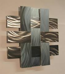 Contemporary Metal Wall Art Sculpture Stainless 14S, Atlanta Georgia